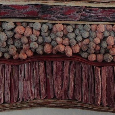 Big Geology Red (Detail)