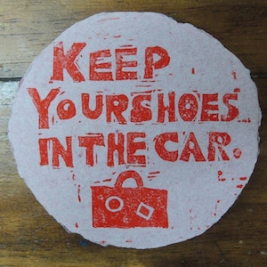 Keep Your Shoes in the Car