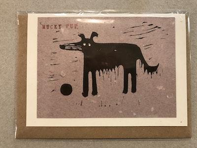 Mucky Pup Card